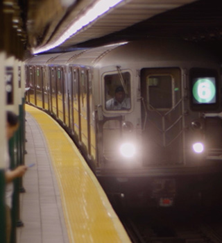 ニューヨーク留学/電車