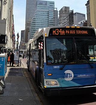 ニューヨーク留学/バス